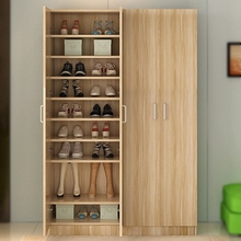 包安装超高md2薄鞋橱家cd做鞋柜玄关柜大容量经济型上门定制