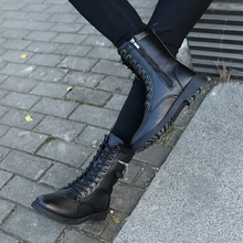 秋冬季男士韩版休闲马丁靴