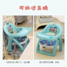 婴儿幼me童(小)孩宝宝uo背餐椅座椅用餐桌喂吃饭学坐椅子