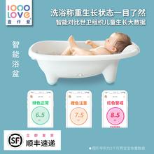 壹仟爱智能婴儿洗澡盆宝宝