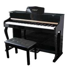 。海邦me8键重锤家zo成的幼师电钢初学者宝宝数码钢琴