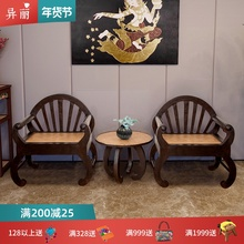 异丽泰me沙发现代中li客厅全禅意组合复古家具