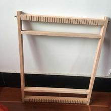 新款 木质织布机手工di