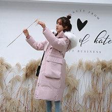 SY&ame1p;HMom冬中长式韩款2020冬季新式过膝宽松时尚潮流外套