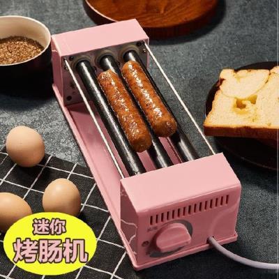 火腿肠me作机家用热ay型烤香肠全自动专用烤肠迷你商用