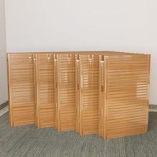 折叠床mf的单的简易aw经济型租房午休午睡家用硬板竹子床