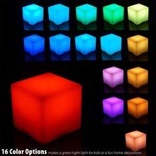 LED发光立方体茶几椅子