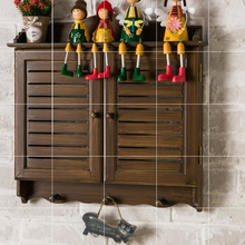 美式复mg木质百叶假ll电箱壁挂装饰遮挡做旧窗户配电箱装饰箱
