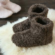 居家棉靴女mi2情侣男2in式保暖软底包跟毛毛室内家用家居棉拖鞋