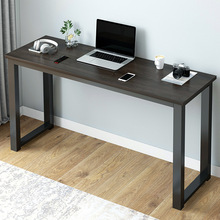 140mi白蓝黑窄长ni边桌73cm高办公电脑桌(小)桌子40宽
