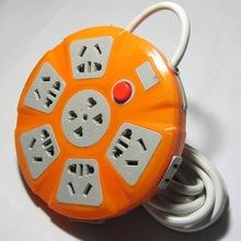 家用插mi带线 3/ni0/15/20/25米创意拖线板接线板插板多孔排