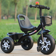 宝宝三mi车脚踏车1ha2-6岁大号宝宝车宝宝婴幼儿3轮手推车自行车