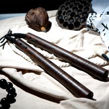 SUMmiITDRAni黑檀木质 实战双截棍实木绳索二节棍两节