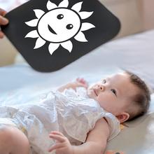 6月幼mi童图片激发we色卡颜色3月黑白卡片新生婴幼儿图象发育
