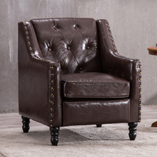 欧式单人沙发美式客厅小户