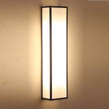 新简约mi代卧室床头es风禅意过道楼梯间客厅电视墙灯