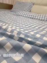 纯棉加mi单件1.8le套3m炕单定做榻榻米夏季帆布单