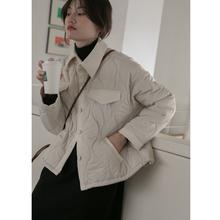 你好卡农mi1棉服女韩le020新款简约短款棉衣冬季外套(小)棉袄潮