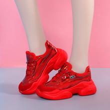 本命年mi鞋网红(小)红te运动女士休闲夏天女式网鞋夏季透气旅游