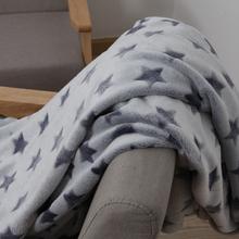 (小)毛毯mi季法兰绒剪ik午睡毯空调薄被子珊瑚绒沙发盖毯