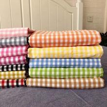山东大mi单麻布床单rz老粗布加厚加密纯棉被单定做