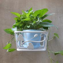 阳台壁挂式花盆架mi5客厅墙面sy架 挂墙上挂壁吊兰绿萝花架子