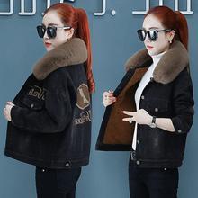 Y1加mi秋冬棉服休hu外套女士加绒冬季2020新式短式女装时尚