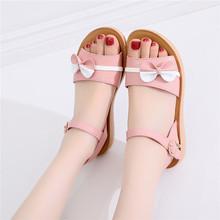 中(小)学mi女孩子夏季hu10中大童11女童12运动13软底14凉鞋15岁