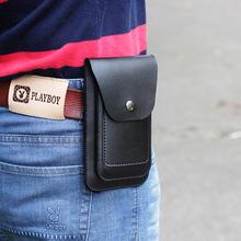 男士穿mi带腰包4.pn.5 6.2 6.5 6.7寸竖式双手机包套 超薄