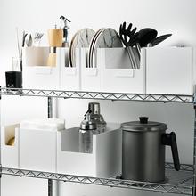 厨房橱mk收纳盒桌面bc妆品面膜家用储物置物筐抽屉式分隔神器