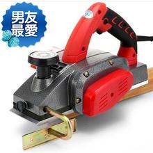 。手持电动刨压刨机。木砧