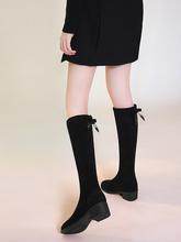 台湾红蜻蜓企业有ml5公司RDit靴年长靴中筒靴不过膝冬季(小)个