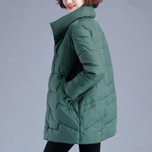加厚冬mm外套棉袄2oo年新式羽绒棉服女中长式妈妈棉衣女韩款宽松