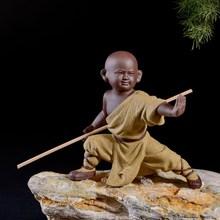 禅意(小)mo尚摆件花盆tr物摆件花宠盆景紫砂家居装饰