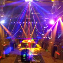 LEDmo控彩灯djof宿舍镭射灯跳舞清吧舞厅单车房光束灯