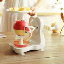 智慧夫mo日式苹果水se器削皮刀多功能手摇水果去皮器