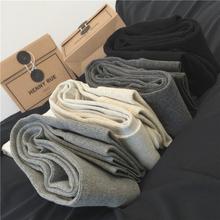 【回馈mo2个式都好do裤 纯色百搭弹力坑条纹踩脚连裤袜秋冬