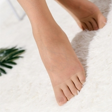 日单!mo指袜分趾短do短丝袜 夏季超薄式防勾丝女士五指丝袜女