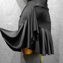 YJFmo 拉丁舞服la新式拉丁半身裙舞蹈半身裙舞蹈裙BY166