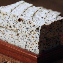 江山正mo传统糕点点dl农家手工芝麻红糖糯米白米糕500g