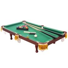 娱乐台球家用折叠室内台球杆可移动台球桌简易练习。