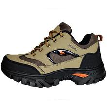 夏季户mo男士防水防rb登山鞋透气轻便防臭软底休闲运动男鞋子