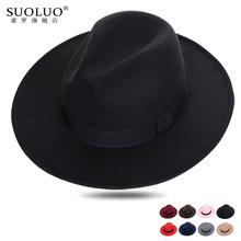 上海滩mo沿礼帽男士rb呢英伦帽子女草编遮阳帽透气牛仔防晒帽