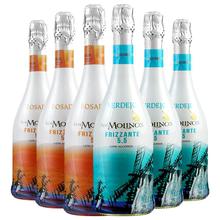 【正善mo肉哥】西班th酒魔力风车甜白/2种口味6瓶