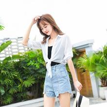(小)披肩mo夏季裙子外vi百搭短式上衣薄式雪纺防晒衣配吊带外套
