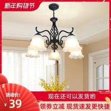 客厅灯ms灯美式简约tg室灯餐厅书房艺术灯具现代店铺简欧新式