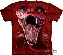 国内现货美国THEmu6MOUNdl 3D T恤 限量式 红曼巴眼镜蛇