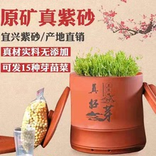 【甜脆mu芽】真好芽ng罐 紫砂发豆芽罐机 家用全自动大容量