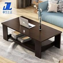 餐桌两用双层折mu餐桌多用家ic活动艺术组合茶几中款(小)桌收