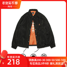 S-SmuDUCE ic0 食钓秋季新品设计师教练夹克外套男女同式休闲加绒